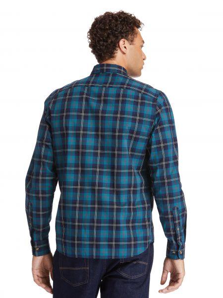 Рубашка в клетку - синяя Timberland