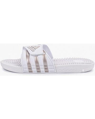Сланцы белые Adidas