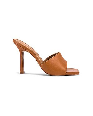 Мюли кожаные на каблуке Tony Bianco