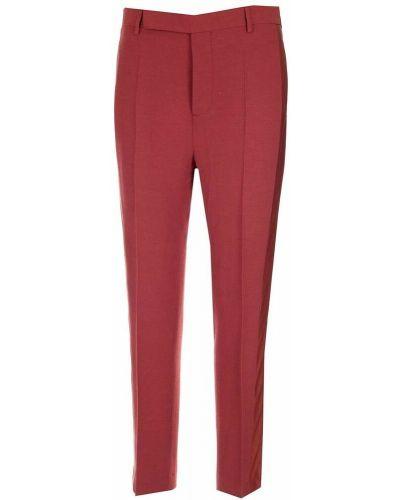 Spodnie - czerwone Rick Owens