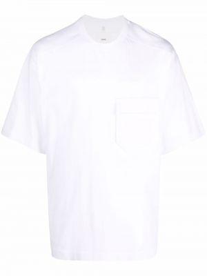 Biała koszulka krótki rękaw Oamc