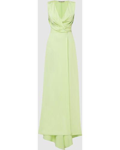 Зеленое платье макси Ermanno Scervino