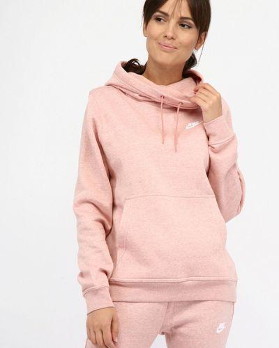 Розовая толстовка Nike