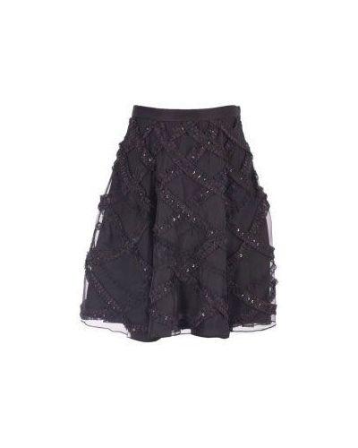 Черная юбка миди Moschino Cheapandchic