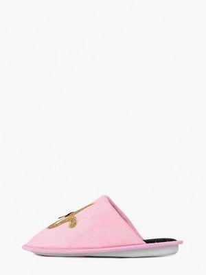 Домашние текстильные розовые тапочки T.taccardi