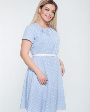 Платье мини в горошек платье-сарафан тм леди агата