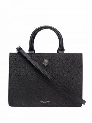 Czarna torebka skórzana Kurt Geiger London