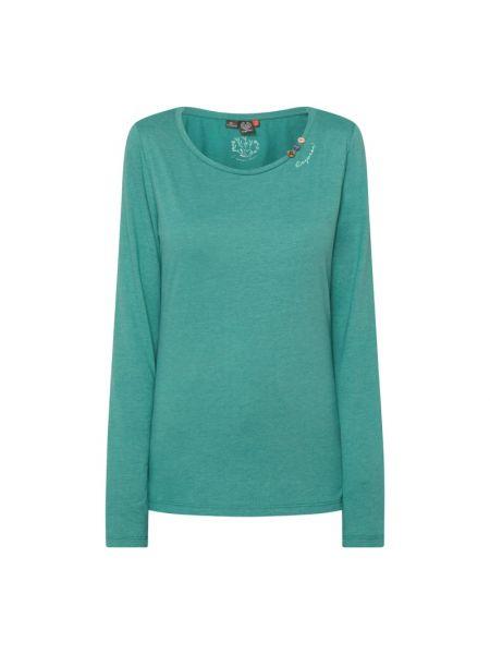 Zielona bluzka bawełniana Ragwear