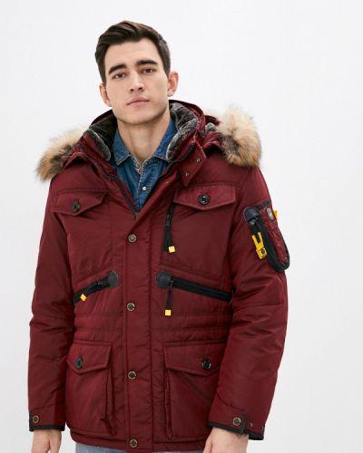 Утепленная красная куртка Vizani