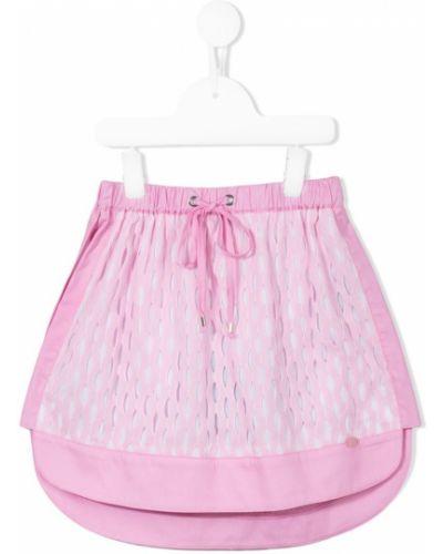 Юбка плиссированная розовый Valmax Kids