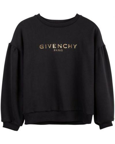 Bluza elegancka z długimi rękawami z printem Givenchy