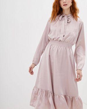 Платье розовое прямое With&out