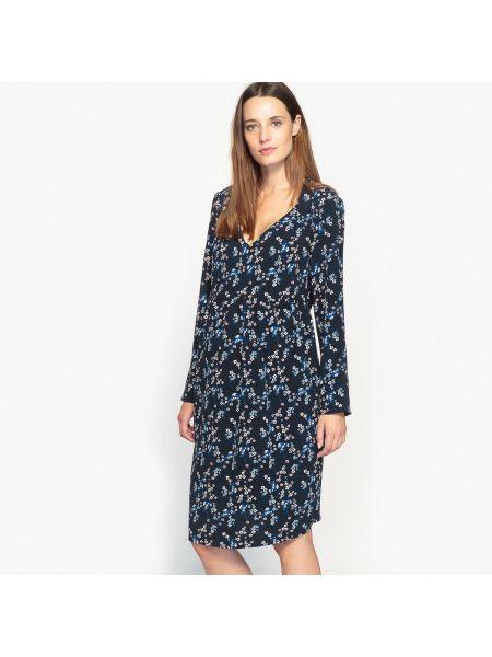 Платье миди мини с цветочным принтом La Redoute Collections