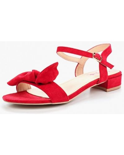 Красные сандалии Vera Blum