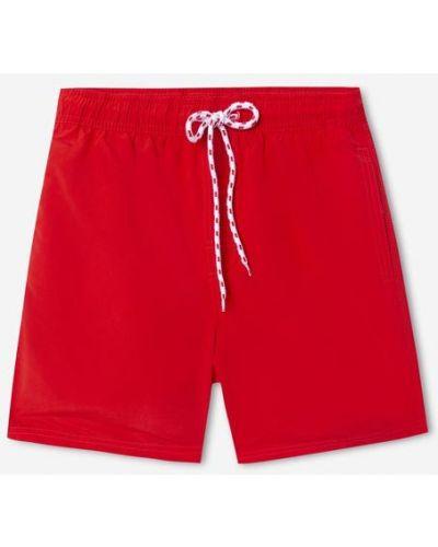 Красные пляжные джинсовые шорты с подкладкой Gloria Jeans