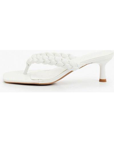 Белые сабо летние Ideal Shoes®