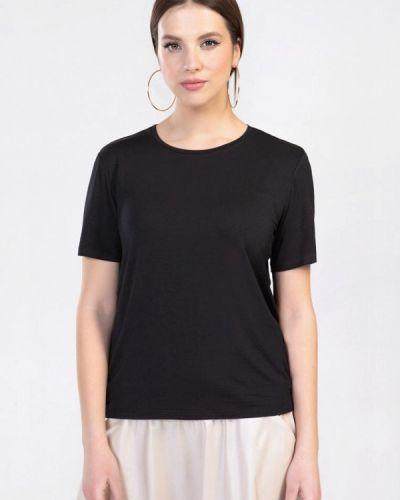 Черная футболка с короткими рукавами Prima Linea