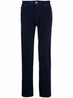 Черные хлопковые брюки Jacob Cohen
