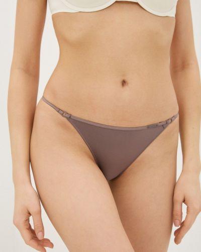 Фиолетовые трусы бразильяна Calvin Klein Underwear