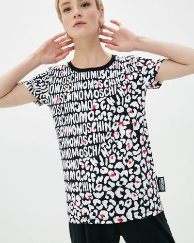 С рукавами футболка Moschino Underwear