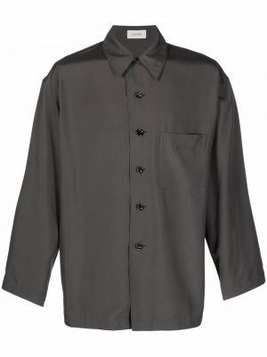 Koszula z jedwabiu Lemaire