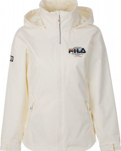 Куртка с капюшоном спортивная укороченная Fila