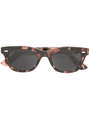 Okulary z printem - czarne Pleasures