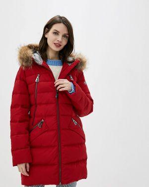 Зимняя куртка осенняя красная Betty Barclay