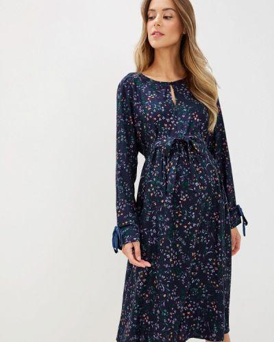 Платье для беременных индийский осеннее Mama.licious