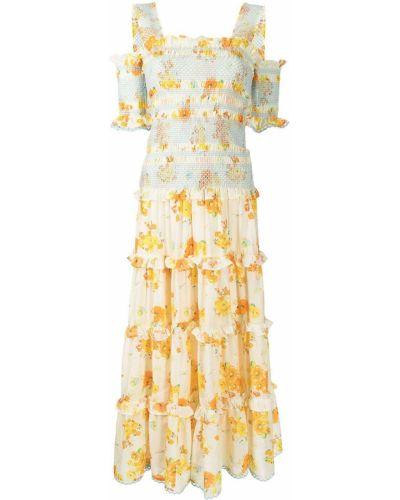 Хлопковое платье миди Alice Mccall