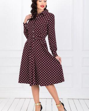 Платье с поясом платье-сарафан на кнопках Taiga