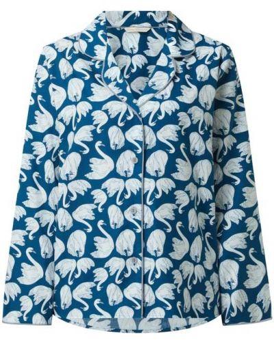 Niebieska piżama z długimi rękawami Cyberjammies