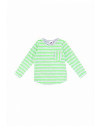 Зеленый лонгслив Berry Wear