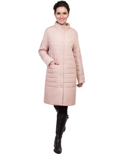 Пальто с капюшоном на кнопках с воротником J-splash