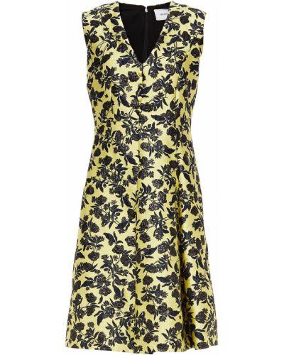 Плиссированное платье Erdem