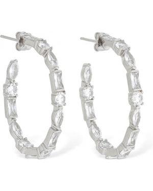 Kolczyki sztyfty z cyrkoniami srebrne Talita