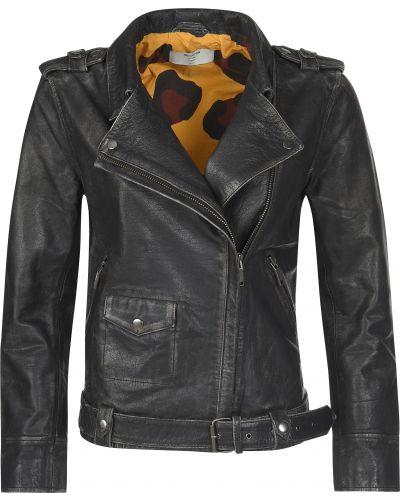Куртка весенняя черная Oneteaspoon