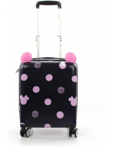 Różowa walizka Samsonite