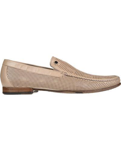Кожаные туфли - бежевые Mario Bruni