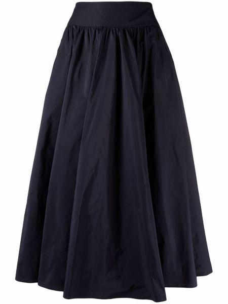 Синяя юбка миди с завышенной талией Seventy