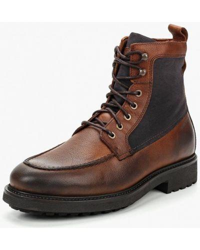 Ботинки осенние кожаные высокие Marc O'polo