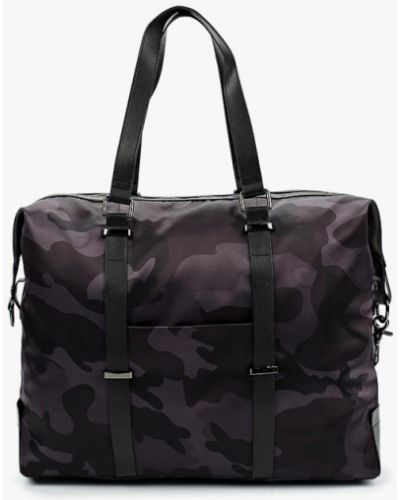 Черная дорожная сумка El Tempo