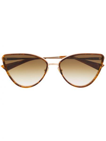 Солнцезащитные очки металлические хаки Christian Roth