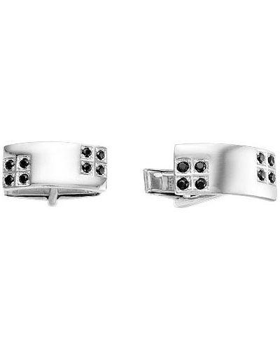Запонки - серебряные серебро россии