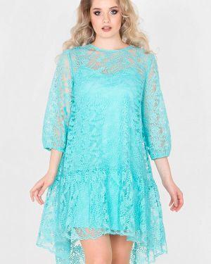 Вечернее платье бирюзовый Filigrana