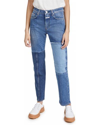 Прямые синие джинсы стрейч Closed