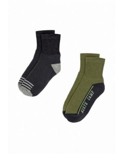 Носки черные зеленый Infinity Kids
