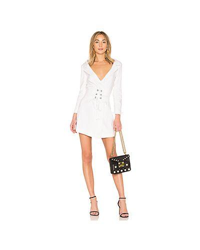 Платье с поясом на шнуровке платье-пиджак Lpa