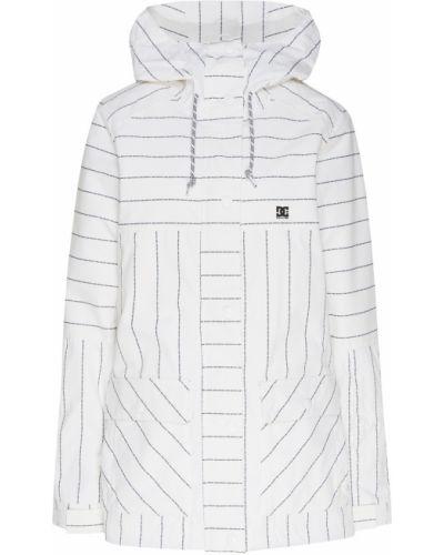 Куртка горнолыжная с капюшоном - белая Dc Shoes