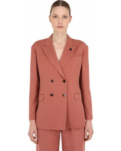 Пиджак оверсайз - розовый Lardini